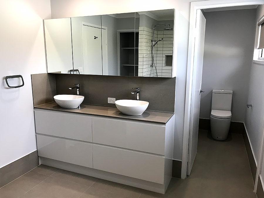 modern bathroom renovations sunshine coast